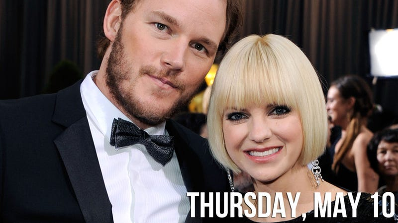 Anna Faris and Chris Pratt Are Expecting a Real-Life Human Baby