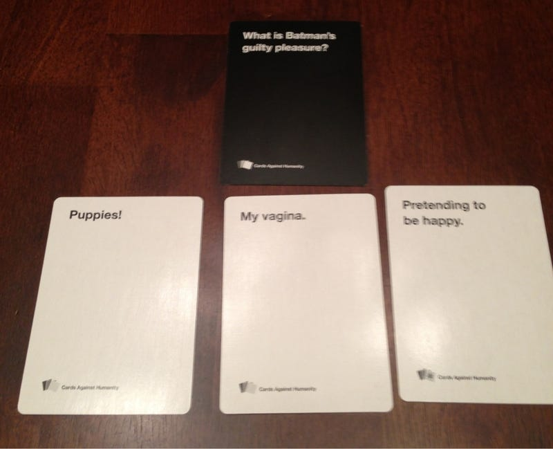 Anyone wanna playing Cards Against Humanity tonight?