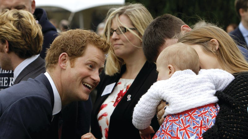 We Get It, Prince Harry. You're Adorable.