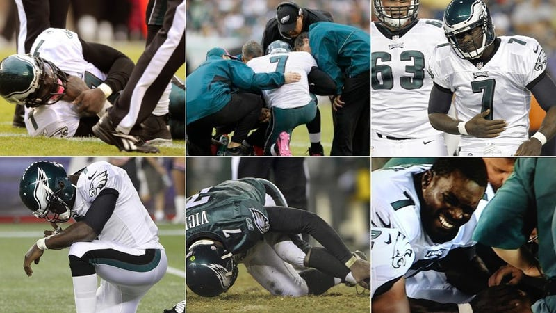 "How Will Michael Vick Stay Healthy? ""Train Hard And Pray To God."""