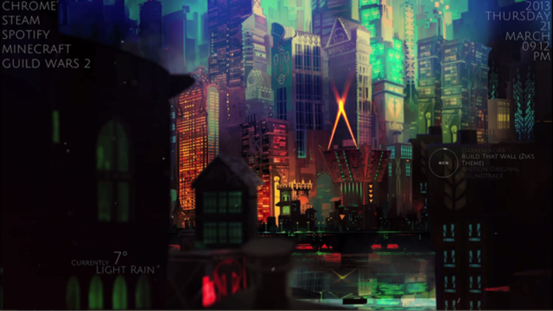 The Transistor Desktop