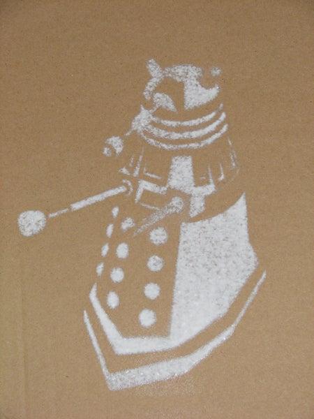 Graffiti And Stencil Art Will! Be! Ex! Terminated!