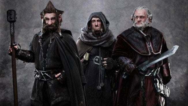 First look at Dori, Nori and Ori from The Hobbit set