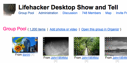 Show Us Your Desktop and Workspace on Flickr