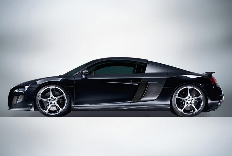 ABT R8: Lord Vader, Your Coke Dealer's Car Has Arrived