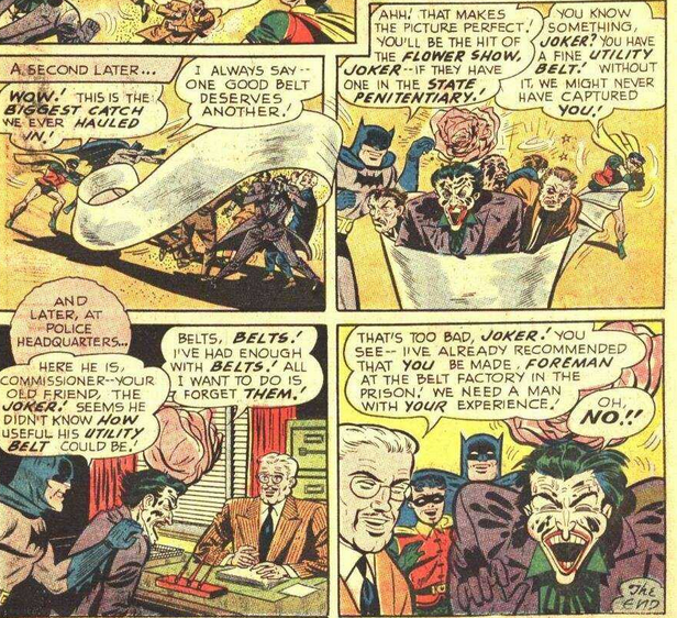 Did you know the Joker once built his own utility belt filled with crap?