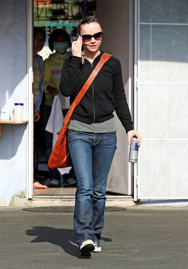 Christina Ricci Leaves Salon Workers Stunned