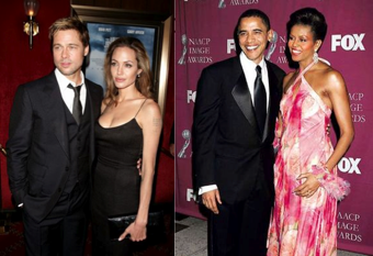 Us Weekly Sides with McCain, Obamas Are 'The New Brangelina'
