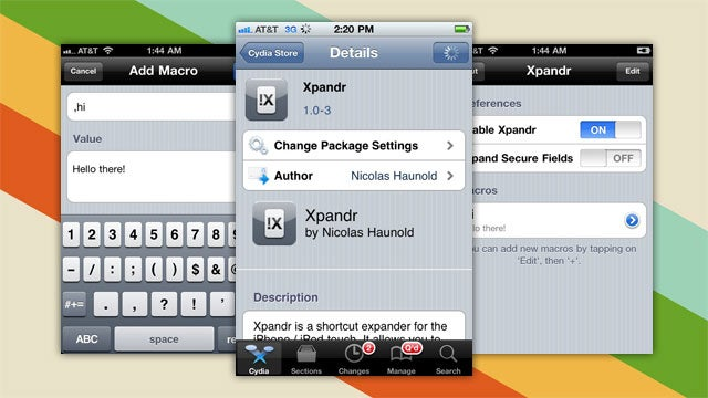 Xpandr Is True System-Wide Text Expansion for Your Jailbroken iDevice