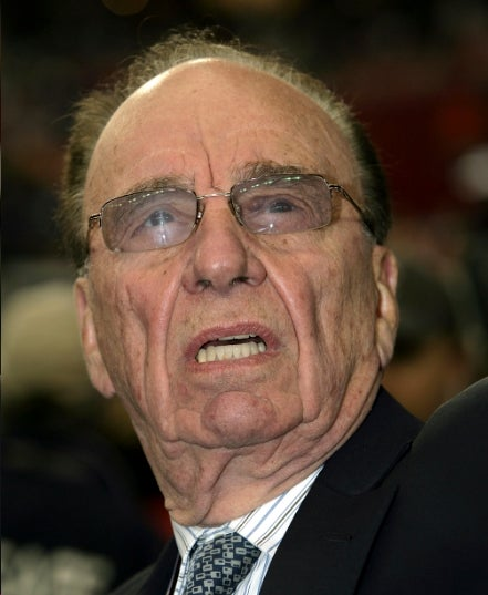 Rupert Murdoch Getting to That Surly Age