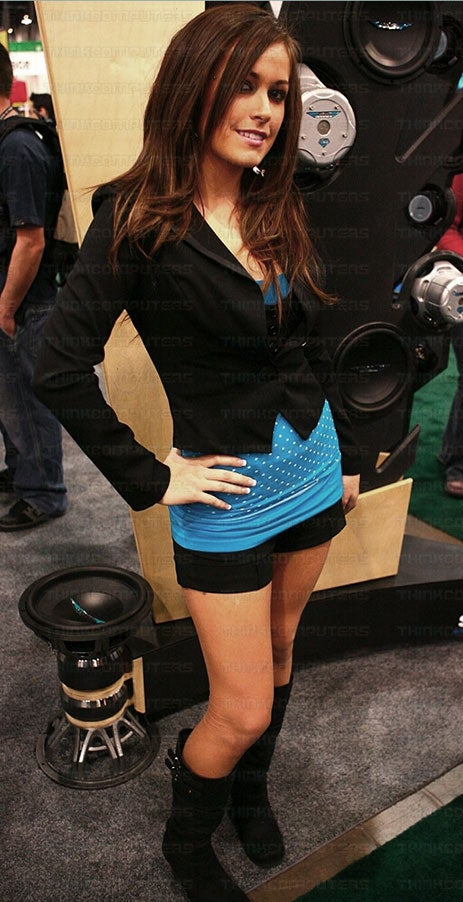 Even More Booth Babes from CES 2008