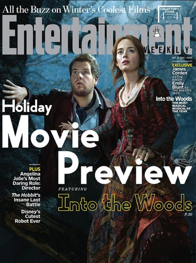 Johnny Depp's Big Bad Wolf From Disney's Into The Woods Is Just Bad