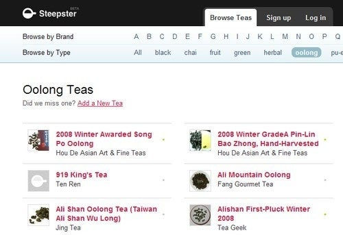 Steepster is a Virtual Tea House for Tea Aficionados