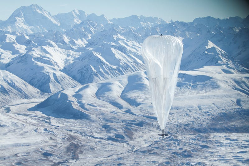 Google tiene una idea para llevar Internet a todo el mundo: globos