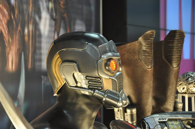 Guardians of the Galaxy props show us what the movie will look like