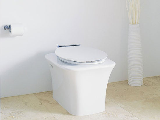 Kohler Fountainhead Toilet Makes Crapping So Luxurious You Won't Even Want to Wipe