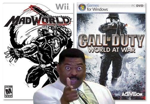 Call of Duty: World At War, MadWorld Go Cheap