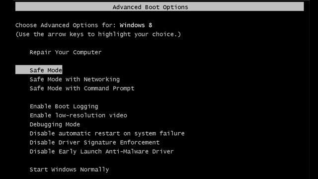 "Bring Back the Old ""F8"" Safe Mode Shortcut in Windows 8"