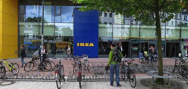 Why Ikea Is Ditching Giant Parking Lots