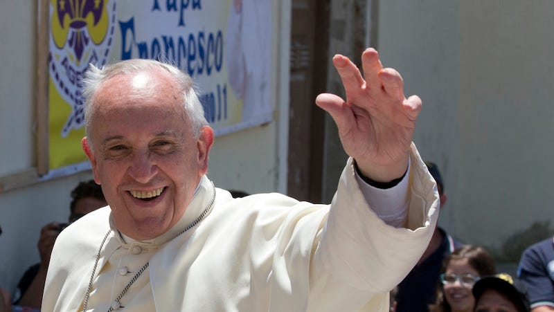 Pope Francis Visits Mob City Amid Fears Mob Might Try to Whack Him