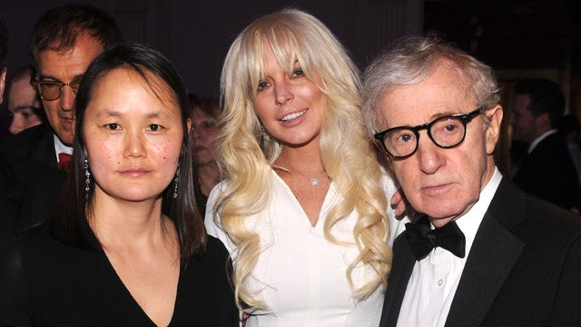 An Awkward Moment with Lindsay Lohan, Woody Allen, and Soon-Yi