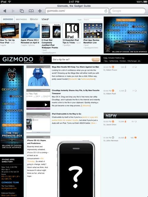 New Giz vs Old Giz Gallery