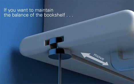 Balancing Your Books Gets Real With the Scales Bookshelf