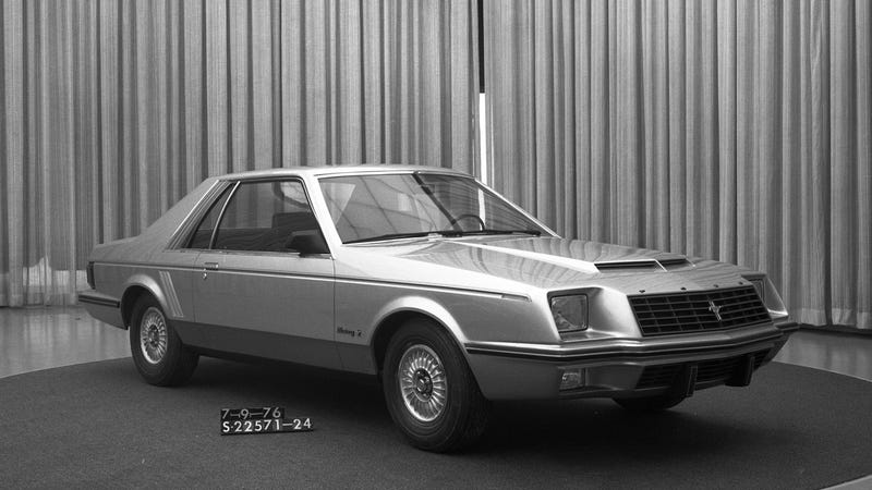 This Fox-body Mustang woody-wagon shooting brake never happened