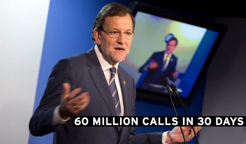 The NSA Monitored Tens of Millions of Phone Calls in Spain Last Year