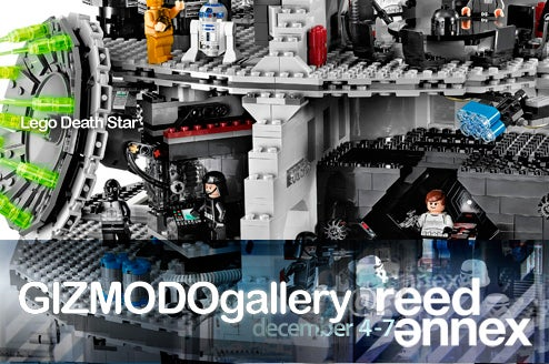 At Gizmodo Gallery: The Lego Death Star