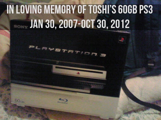 The Day I Said Goodbye To My PS3