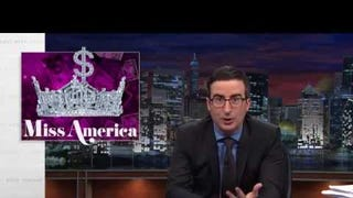John Oliver Wants to Know: How Is Miss America Still a Thing?