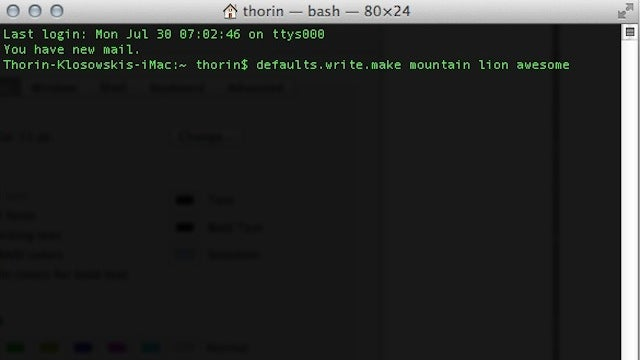 Get Mountain Lion Hacker-Friendly with This Huge List of Command Line Tricks