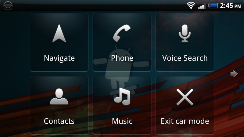 Car Home Moves to the Android Market, Updates with Custom Shortcuts