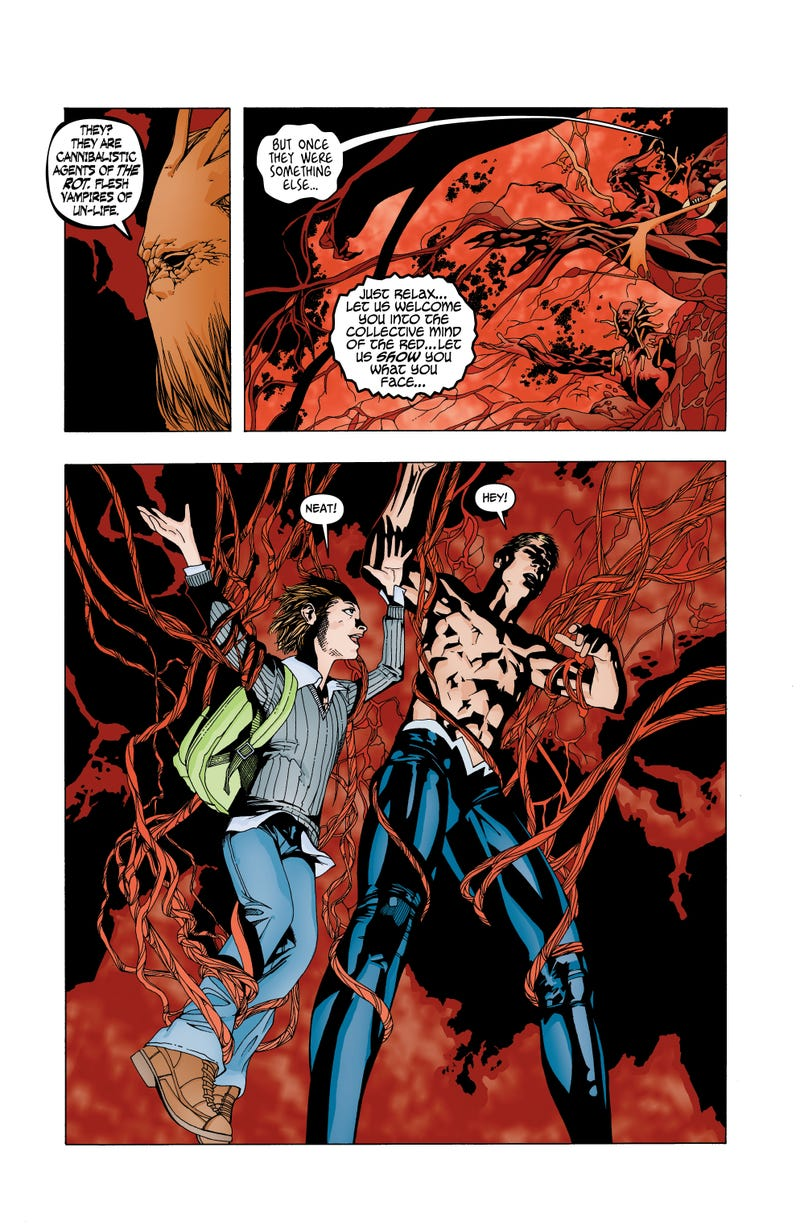 Read an exclusive, viscera-and-guts-filled preview of DC Comics' Animal Man!