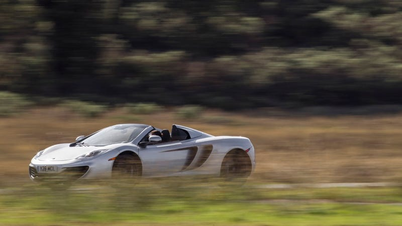 2013 McLaren 12C Spider: The Jalopnik Review