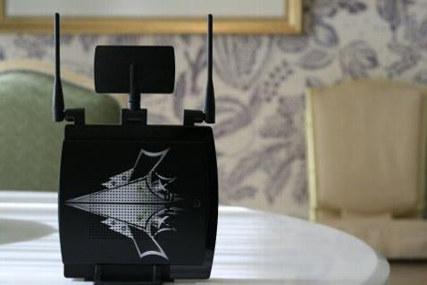 Linksys Gaming Router Scares Your Opponents: Tattooed, QoS, A/B/G/N