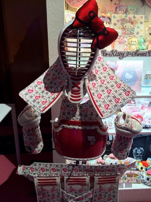 Behold, Hello Kitty-Branded Martial Arts Armour