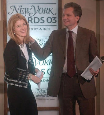 Times City Room Will Not Mention Caroline Kennedy's Special Friendship With Pinch Sulzberger