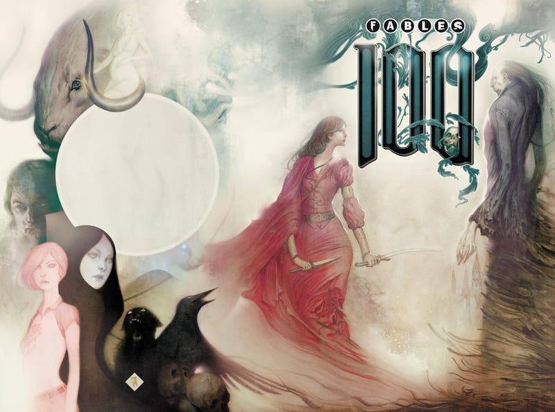 We talk to Bill Willingham about 100 issues of Fables