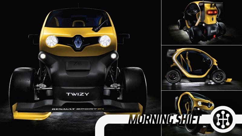 This French F1-Inspired Electric City Car Is Insane