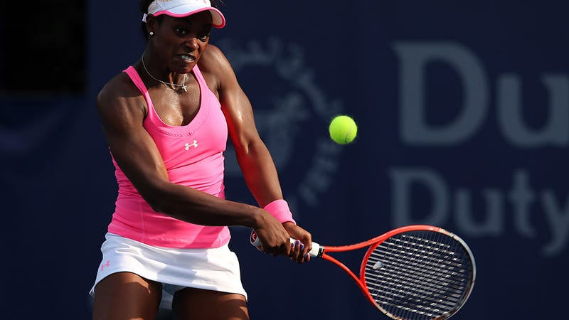 Sloane Stephens Is Armed and Dangerous