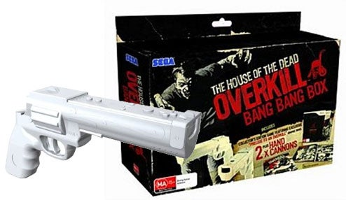 The House Of The Dead Overkill Gets A Hand Cannon