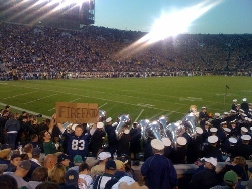 I Believe This Sums Up The Average Notre Dame Fan's Thoughts Quite Nicely