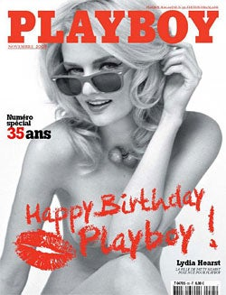 Lydia Hearst Poses for Much-Classier French Playboy