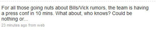 Internet Paralyzed By Michael Vick To Buffalo Rumors