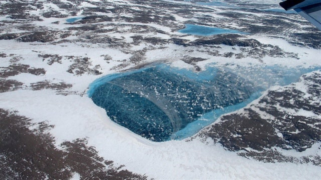 The Arctic is farting ancient methane into the atmosphere