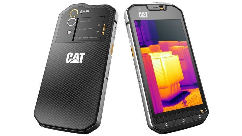 CAT S60, un brutal smartphone blindado con cámara de visión nocturna FLIR