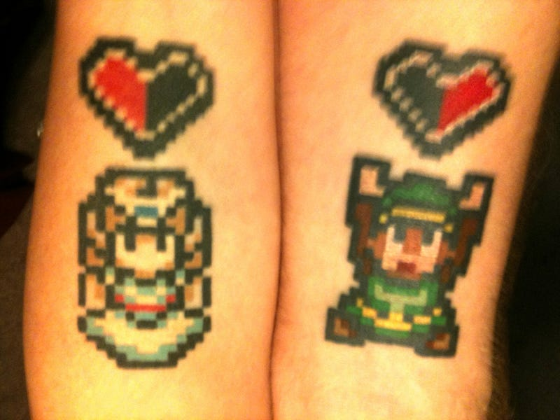It's Dangerous To Go Alone! Get Inked Together!