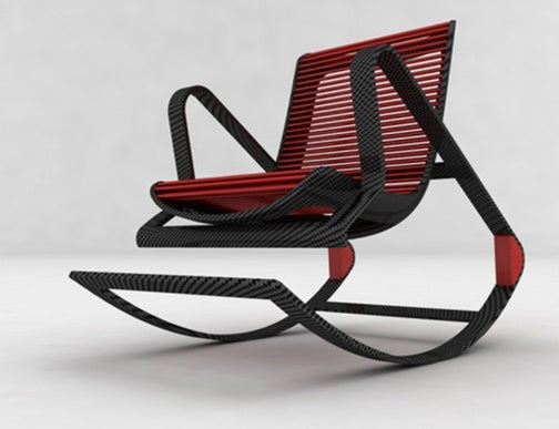 Fotel Designer Chair Transforms From Rocking to Stationary in 20 Seconds